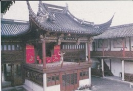 ASIE--CHINE-CHINA--SUZHOU--the Ancient Stage In The Suzhou Drama Museum--voir 2 Scans - Chine