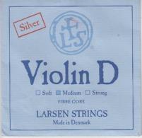 Denmark Larsen Violin Strings Envelope Label Empty - Accessories & Sleeves