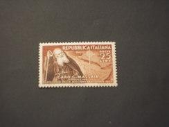 ITALIA REPUBBLICA - 1952 MASSAIA - NUOVO(++) - 1946-60: Mint/hinged