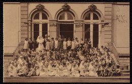 Piétrebais : Les Petites Abeilles - Sanatorium Pour Enfants Rachitiques Et Jeunes Filles Lébilitées - Un Groupe En 1933 - Eupen