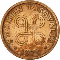 Finlande, 5 Pennia, 1970, TTB, Cuivre, KM:45 - Finlande