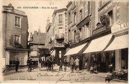 CPA  Coutances - Rue Du Lycée   (209264) - France
