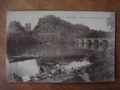 FRANCE - Yvelines - MANTES La Jolie ( Ville ) --- Vue Sur Le Vieux Pont De Limay - Mantes La Jolie
