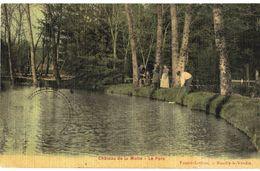 CPA N°6211 - CHATEAU DE LA MOTTE (HUSSON) - LE PARC - Francia