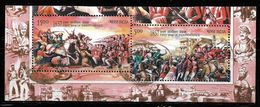 India 2007 First War Of Independence 2 Value Setenant Used Stamps # A:68 - India