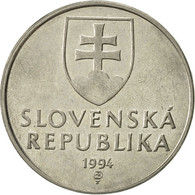Slovaquie, 2 Koruna, 1994, SUP, Nickel Plated Steel, KM:13 - Slovaquie