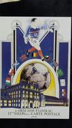 CPM 11 EME SALON DE LA CARTE POSTALE FLOIRAC MAI 1998  ILLUSTRATEUR AR ROUE FOOTBALL 1272/ 2000 - Bourses & Salons De Collections