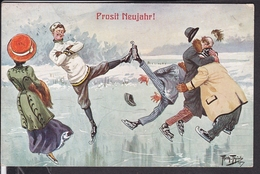 Neujahr , Arthur Thiele 1910 - Thiele, Arthur