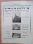 1922 - Construction Hangar à Dirigeable  Maubeuge Ou Belfort ( Photo Centre)  - Page Originale ARCHITECTURE Industrielle - Architecture