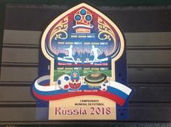 Guinee-Bissau - Postfris/MNH - Sheet WK Voetbal In Rusland 2016 - Guinea-Bissau