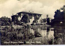 Ariis Di Rivignano - Udine - Villa Lavato - Ottelio - Formato Grande Viaggiata – Ar - Udine