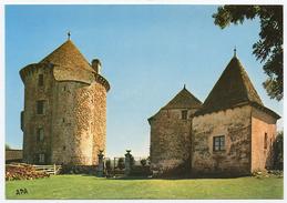 15-CA-1014 CHAUDES AIGUES - Edts Apa Poux - Château De Couffour (recto-verso) - Andere Gemeenten