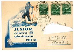 TORINO - CENTRO DI GIOVINEZZA PIO XI - Education, Schools And Universities
