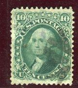 Etats Unis - N° 22 Oblitéré Cote 50€ - Ref Aa20 - 1847-99 Unionsausgaben