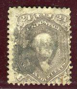 Etats Unis - N° 24 Oblitéré Cote 250€ - Ref Aa21 - 1847-99 Unionsausgaben