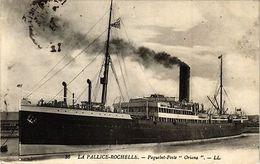 """CPA  La Pallice-Rochelle -Paquebot-Poste """"Oriana""""  (183882) - France"""