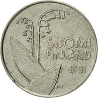 Finlande, 10 Pennia, 1991, SUP, Copper-nickel, KM:65 - Finlande
