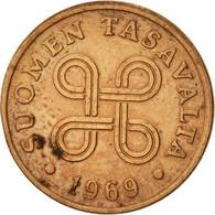 Finlande, Penni, 1969, TTB, Cuivre, KM:44 - Finlande