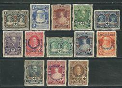 ESPAGNE N° 300 à 312 * (très Propres) - 1889-1931 Kingdom: Alphonse XIII