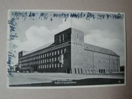 Schneidemühl, Pila, Regierungsgebäude, Gelaufen 1935 - Westpreussen