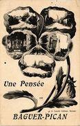 CPA Une Pensée De Baguer-Pican (265596) - France