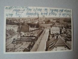 Schneidemühl, Pila, Panorama, Gelaufen 1929 - Westpreussen