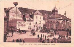 BELGIQUE -  LIEGE   -  SPA  -  Place Pierre-le-Grand Et Le Poubon   -  ¤¤ - Spa