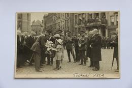 B38   -   Le  Roi  Albert    à  Tournai  Carte  Photo - Tournai