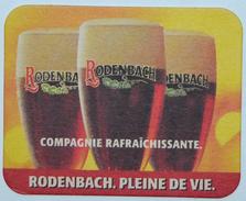 Sous-bock RODENBACH Compagnie Rafraîchissante Pleine De Vie Bierdeckel Bierviltje Coaster (V) - Sous-bocks