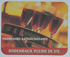 Sous-bock RODENBACH Promenade Rafraîchissante Pleine De Vie Bierdeckel Bierviltje Coaster (V) - Sous-bocks