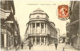 33/CPA A - Bordeaux - Théatre Français - Bordeaux