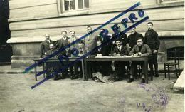 VANNES Devant L'Hôtel De Ville Les Organisateurs Du Grand Prix De Vannes 19 Juin 1927 (voir Le Recto) Carte Photo - Vannes