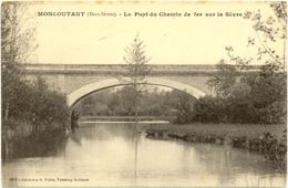 79/CPA - Moncoutant - Le Pont Du Chemin De Fer Sur La Sèvre - Moncoutant