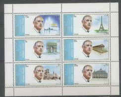 Sharjah Charles De GAULLE MNH - De Gaulle (Général)