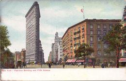 PC - New York - Flat Iron Building - Pub Reclame Balsam Apéritif - Elixir D' Anvers - New York City