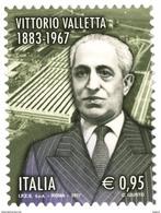 Italia Repubblica 2017 Vittorio Valletta Nel 50° Anniversario Della Scomparsa € 0,95 MNH** Integro - 2011-...:  Nuovi
