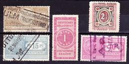 Deutsches Reich 1880-1922, Fracht- Und Steuermarken - Deutschland