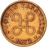 Finlande, 5 Pennia, 1972, TTB, Cuivre, KM:45 - Finlande