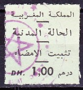 Marokko 1967, Steuermarke - Marokko (1956-...)