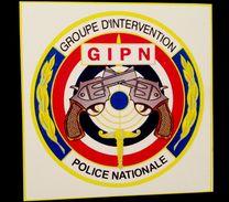 RARE AUTOCOLLANT POLICE NATIONALE LE GIPN TRES BON ETAT 50mm - Politie En Rijkswacht