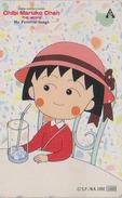 Télécarte Japon / 110-011 - MANGA - CHIBI MARUKO CHAN / The Movie - ANIME Japan Phonecard - BD COMICS - 8802 - BD