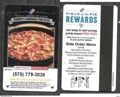 Hotel  - Kachina Lodge, Dominoes Pizza, Taos New Mexico - Hotel Keycards