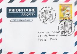 Nouméa 01.01.2001 - Cachet Nouveau Siècle - Cagou Oiseau Bird - Lettres & Documents