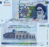 IRAN       20,000 Rials       P-New       ND (2009)      UNC  [ Sign. 36 ] - [ 20000 ] - Iran