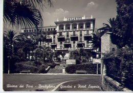 Bordighera - Giardini E Hotel Esperia - Formato Grande Viaggiata – Ar - Imperia