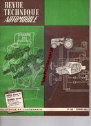 REVUE TECHNIQUE AUTOMOBILE -SIMCA  ARIANE 4- EVOLUATION 1958 A 1963- TRIUMPH HERALD 948 ET 1200 CM3- FILTRES MOATTI-1963 - Auto