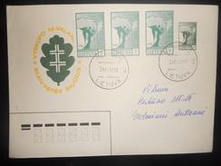 Lituanie Lettre De Vilnius 1990 - Lituania