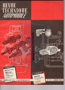 REVUE TECHNIQUE AUTOMOBILE-SIMCA  ARONDE 1962-1963-NSU PRINZ -FREINAGE FERODO LEPELLETIER-JAGUAR S-1964-SALON TURIN - Auto