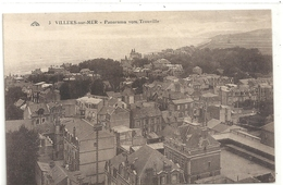 3. VILLERS-sur-MER . PANORAMA VERS TROUVILLE . NON ECRITE - Villers Sur Mer