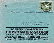 Stuttgart 1923, Frischauer & Co., 300 Mark. Brief Nach Biberach - Deutschland